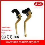 Peça fazendo à máquina da precisão de cobre do OEM do punho de indicador