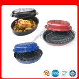 トルコの熱い販売のロースター、楕円形のロースター、Enamelware