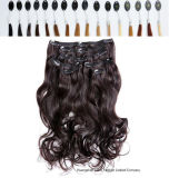 L'India 100% Hair Clip in Hair Extensions Half Wigs