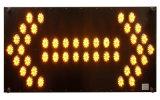 De hoge Heldere LEIDENE Lichte Verkeersteken van de Pijl