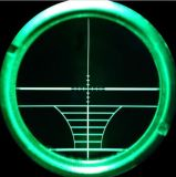6-24X50 Afstandsmeter van het Werkingsgebied van het Geweer van de Jacht verlichtte de Rode Groene het Optische Werkingsgebied van het Kanon