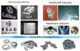 La publicité de la machine de découpage de laser de la plaque signalétique YAG de panneau
