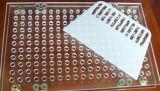 Máquina de enchimento manual da cápsula de 187 furos para o tamanho 00# da cápsula a 4#