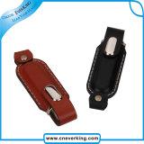 새로운 대중적인 품목 공장 가격 주문 가죽 USB
