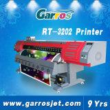 roulis du grand format 1440dpi de 3.2m pour rouler la machine d'impression d'intérieur de Garros 3D Digitals Eco et extérieure dissolvante de publicité