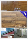 12mm 매트 Gloss V-Groove Waxed HDF Hardwood Laminate Flooring