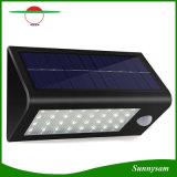 Alta luz solar sensible solar caliente de la pared del sensor de movimiento de la lámpara de calle del lumen LED 32 LED