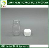 Bottiglia libera 40ml dell'animale domestico piccola per il ridurre in pani della pillola
