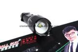 Teleskopische fokussierenled-Taschenlampe mit Cer, RoHS, MSDS, ISO, SGS