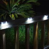 Lumière solaire de poste de frontière de sécurité de jardin