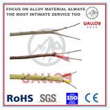 Напечатайте j кабель на машинке компенсации термопары керамического волокна изолированный