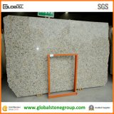 Natürlicher Brasilien-Basisrecheneinheits-Gelb-Granit für Badezimmer-Eitelkeits-Oberseiten