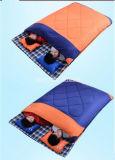 2 Personen-Schlafsack, verdicken kampierenden Erwachsen-Schlafsack