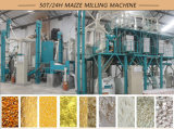 Замбия 50t/24h Maize Milling Machine Maize Roller Meal Machine