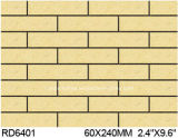 Exterior Wall Brick 60*240mm Rd6401のための粘土Split Tile