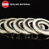 Graphite et Stainless Steel Material Spiral Woun Gasket avec Raw Material : 304/316/316L/Soft Iron