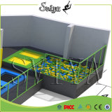 Tremplins gymnastiques superbes mis à jour d'intérieur de zone de saut pour le matériel