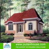 Chambre en acier légère résidentielle préfabriquée de villa avec la taille adaptée aux besoins du client