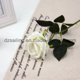Flor al por mayor de Rose de la boda del terciopelo para la decoración (SF16222)