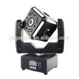 Presa di fabbrica 6X12W RGBW 4 in 1 dell'indicatore luminoso mobile della fase del fascio della testa LED della sfera del cubo del LED