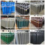 Cylindres d'oxygène industriels d'acier sans joint 40L (en ISO9809-1)