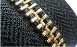 Zahn-Reißverschluss-Lieferanten-Messing-Reißverschluss des Form-Metally