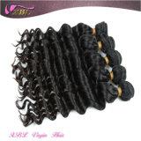 工場価格の遊離体の自然で黒いブラジルの卸し売り毛の織り方のディストリビューター