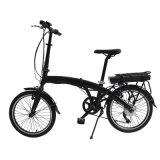 bicicleta de dobramento elétrica da bateria de lítio de 20inch 250W