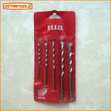 HSS Twist Drill Bits com Various Surfaces e Materials