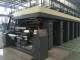 Verwendete 7 Bewegungscomputer-automatische Zylindertiefdruck-Drucken-Maschine für Plastikfilm