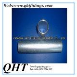 Abgeschrägtes geschweißtes Vor-Galvanisiertes Stahlzaun-Rohr der Enden-Q195 ERW