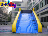 10m Long Bule color inflable Zorb rampa para niños Zorb Ball
