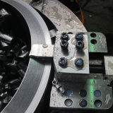 Вырезывание Split трубы рамки гидровлической холодное и скашивая машина