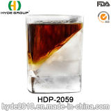 يشخّص [180مل] مربّعة ويسكي فنجان زجاجيّة ([هدب-2059])