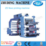 Das meiste Welcomed Plastic Bag 6-Color Flexographic Printing Machine (ZD)