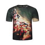 Personnaliser le T-shirt d'hommes estampé par Digitals de la mode 3D