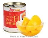 Pêssego amarelo enlatado pêssego de venda quente com melhor qualidade