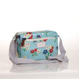 (99032-7) &#160 impermeabile; Sacchetti floreali di Crossbody del sacchetto di spalla di svago della tela di canapa