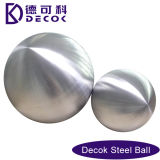 Decorative 300 mm Brushed Finish Stainless Steel Ball