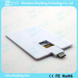 풀 컬러 인쇄 사업 신용 카드 16GB OTG USB (ZYF1610)