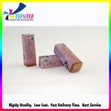 Бумаги с покрытием печатание высокого качества упаковывать губной помады изготовленный на заказ складной