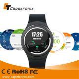 Androides Telefon der Uhr-3G mit Puls-Monitor Bluetooth 4.0 WiFi GPS Smartwatch für IOSandroid-Telefon