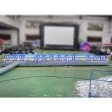PVC тренировки 0.55mm крытого раздувного направляющего выступа валика следа воздуха гимнастический
