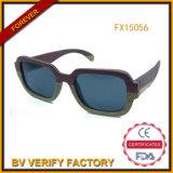Gafas de sol de madera de Padouk de la alta calidad con la lente polarizada (FX15056)