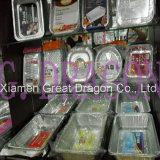 Тарелки алюминиевой фольги, подносы, контейнеры с крышками (AFC-003)