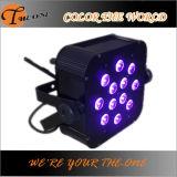 Décoration légère minimum pourpre sans fil de mariage de la couleur LED