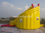 商業用等級販売のための膨脹可能な水スライド
