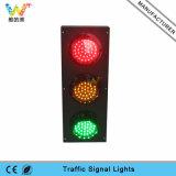 Kundenspezifisches Verkehrszeichen-Licht der Form-drei der Geräten-100mm LED