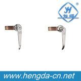Maniglia di portello della leva della serratura della maniglia della serratura del Governo con la serratura (YH9685)