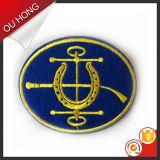 Correção de programa feita sob encomenda do emblema do bordado de Hangzhou para acessórios do vestuário da roupa